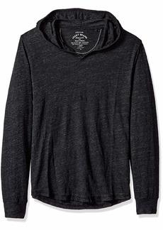 Lucky Brand Men's Casual Long Sleeve Linen HOODLEY Shirt  M
