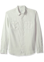 Lucky Brand Men's Casual Long Sleeve Workwear Button Down Shirt  S