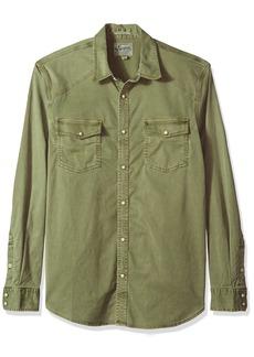 Lucky Brand Men's Casual Long Sleeve Workwear Western Button Down Shirt  M