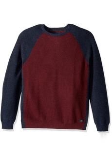 Lucky Brand Men's Color Block Crew Neck Shirt  XL