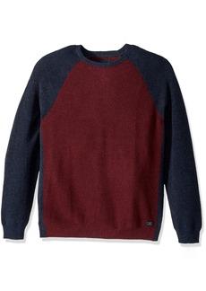 Lucky Brand Men's Color Block Crew Neck Shirt  XXL