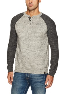 Lucky Brand Men's Color Block Henley Sweater  M