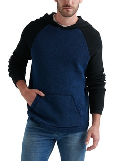 Lucky Brand Men's Colorblock Thermal Hoodie