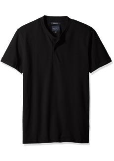Lucky Brand Men's Coolmax Bomber Polo TEE Shirt  L