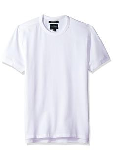 Lucky Brand Men's Coolmax Pique Crew Neck TEE Shirt  L
