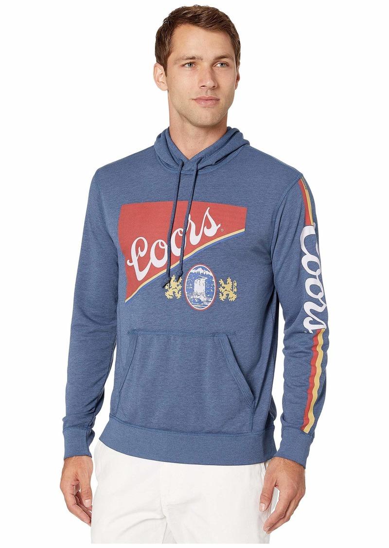 Lucky Brand Men's Coors Banquet Pullover Hooded Sweatshirt  L