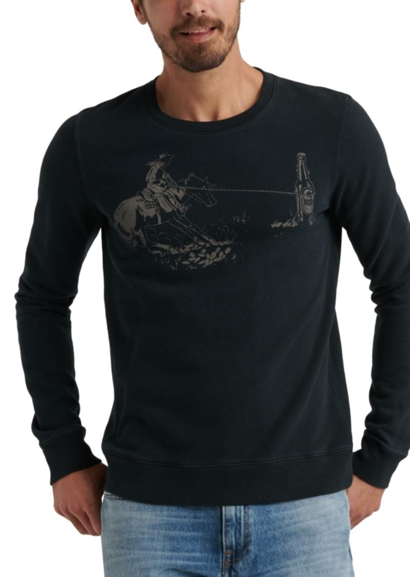 Lucky Brand Men's Cowboy Graphic Sweatshirt
