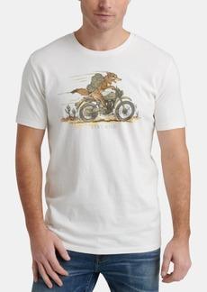 Lucky Brand Men's Coyote Biker Graphic T-Shirt