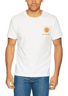 Lucky Brand Men's Coyote Paradise Graphic TEE  L