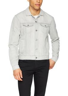 Lucky Brand Men's Denim Linen Jacket  XL