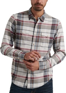 Lucky Brand Men's Derek Snap Plaid Shirt