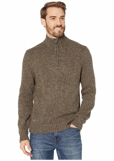 Lucky Brand Men's Donegal Half Zip Mock Neck Sweater  XL
