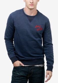 Lucky Brand Men's Embroidered Sweater