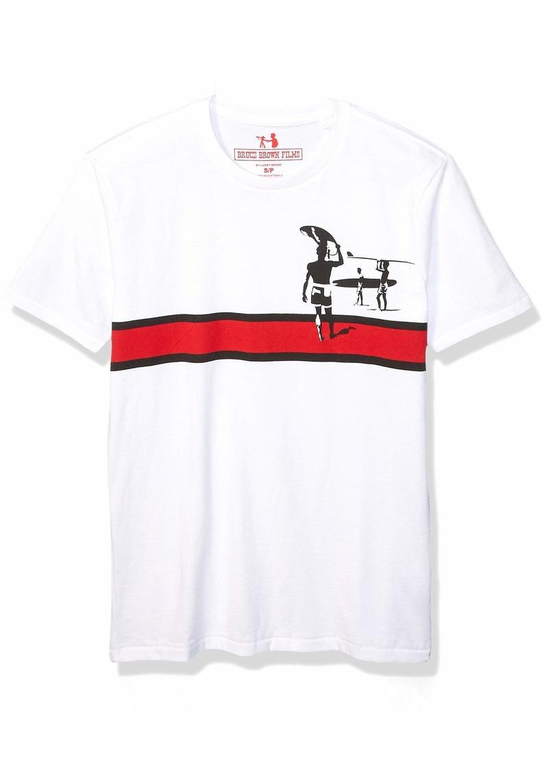 Lucky Brand Men's Endless Summer Stripe TEE  XXL
