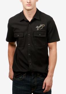 Lucky Brand Men's Fender Embroidered Shirt