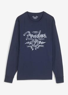 Lucky Brand Men's Fender Long Sleeve T-shirt