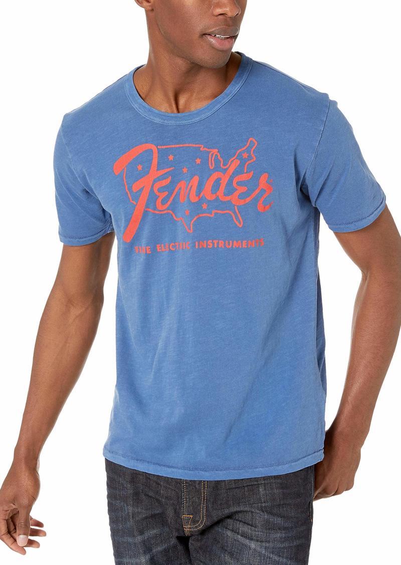 Lucky Brand Men's Fender Nation TEE  L