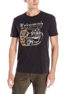 Lucky Brand Men's Fire Triumph Graphic Tee