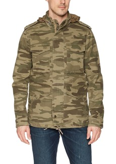 Lucky Brand Men's Full Zip Closure CAMO Jacket XL