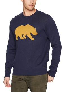 Lucky Brand Men's Golden Bear Sweatshirt  XL