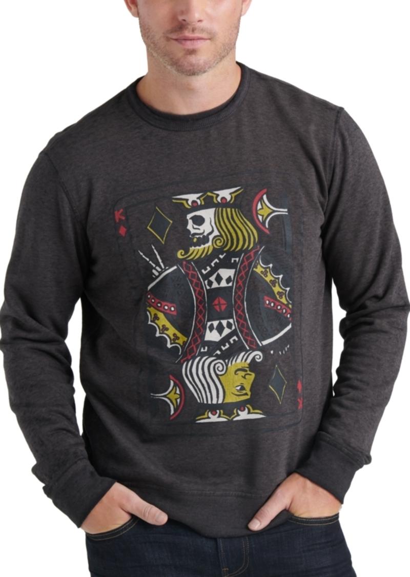 Lucky Brand Men's Graphic Sweatshirt