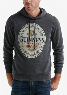 Lucky Brand Men's Guinness Oval Burnout Fleece Hoodie