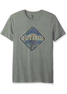 Lucky Brand Men's Guinness Dublin Graphic T Shirt  M