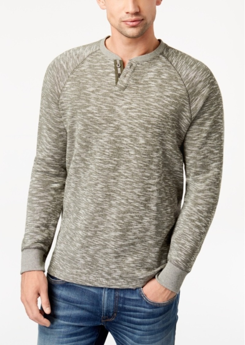 Lucky Brand Lucky Brand Mens Henley Sweater Sweaters