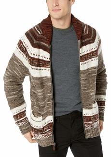 Lucky Brand Men's Heritage Bear COWHICAN Sweater  M