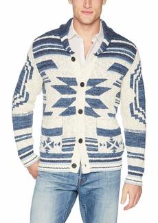 Lucky Brand Men's Heritage Shawl Cardigan Sweater  S