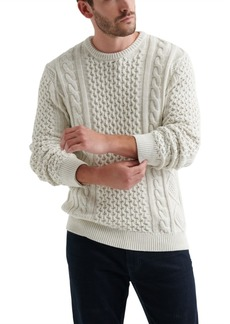 Lucky Brand Men's Iconic Cable Crewneck Sweater