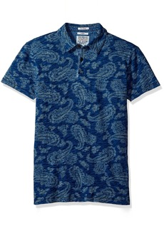Lucky Brand Men's Indigo Polo
