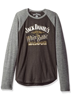 Lucky Brand Men's Jack Daniels White Rabbit Tee  L