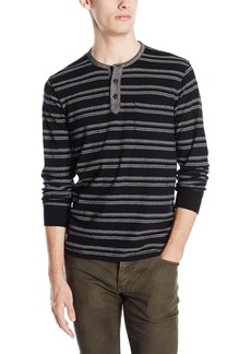 Lucky Brand Men's Jacquard Henley Top  X-Large