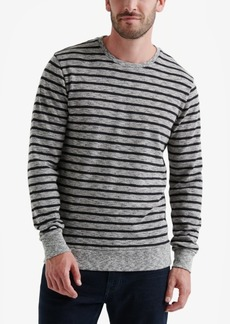 Lucky Brand Men's Jaspe Stripe Crewneck