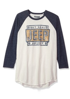 Lucky Brand Men's Jeep Graphic T-Shirt  L