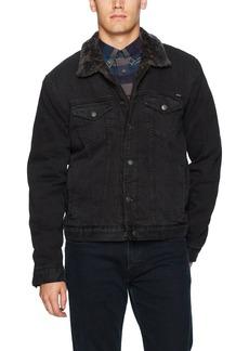 Lucky Brand Men's Lakewood Denim Sherpa Jacket ORIGINATE S