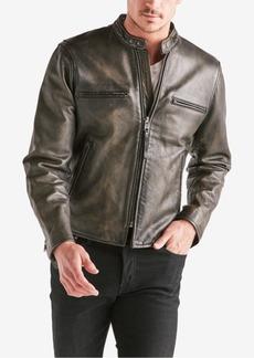 Lucky Brand Men's Leather Bonneville Jacket