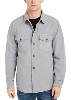 Lucky Brand Men's Lined Shirt-Jacket