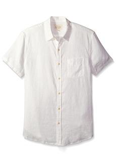 Lucky Brand Men's Linen Ballona Shirt