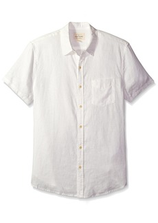 Lucky Brand Men's Linen Ballona Shirt