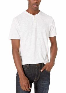 Lucky Brand Men's Linen Henley Shirt  XXL