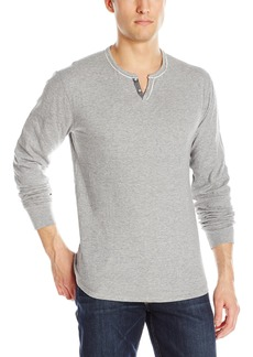 Lucky Brand Men's Lived-In Notch Neck Shirt