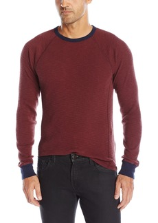 Lucky Brand Men's Lived-in Thermal Crewneck Jean