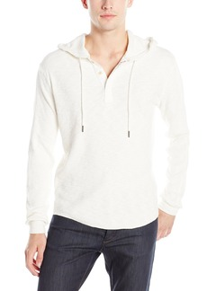Lucky Brand Men's Lived-in Thermal Hoodley Shirt in Marshmellow
