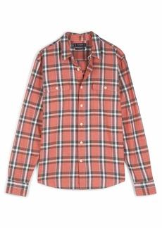 Lucky Brand Men's Long Sleeve Button Up Flannel Humboldt Workwear Shirt  XXL