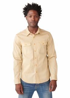 Lucky Brand Men's Long Sleeve Button Up Humboldt Workwear Shirt  S