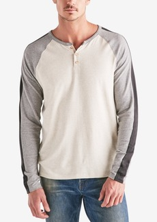 Lucky Brand Men's Long-Sleeve Colorblocked Henley