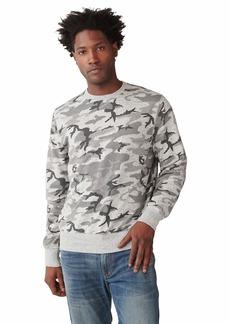 Lucky Brand Men's Long Sleeve Crew Neck Sweatshirt  S