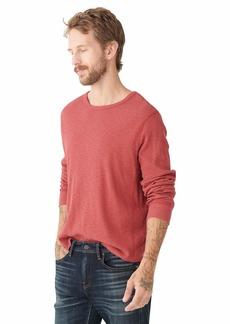 Lucky Brand Men's Long Sleeve Crew NeckThermal Shirt  L